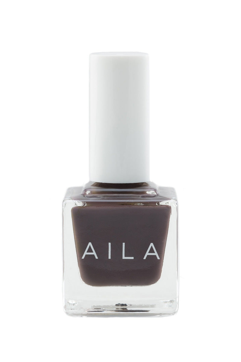 AILA COSMETICS Mister Pookies Nails | Steel Grey Purple| Aila Cosmetics Mister Pookies