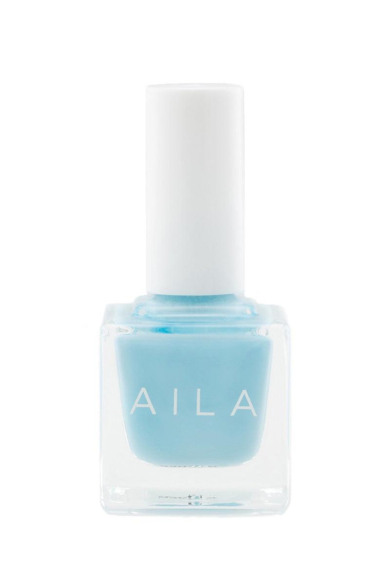 AILA COSMETICS Blue Lagoon Nails   Beach Blue  Aila Cosmetics Blue Lagoon