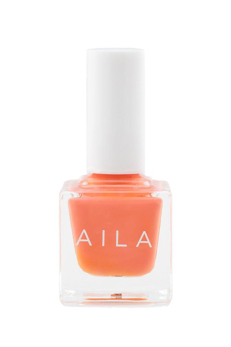AILA COSMETICS Doolish Nails   Sunset Coral  Aila Cosmetics Doolish