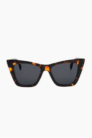 I-SEA Ashbury Sunglasses - Tortoise Sunglasses | Tortoise| I-Sea Ashbury Sunglasses - Tortoise Oversized Sunglasses Frame Color: Tortoise Lens Color: Smoke  Front View