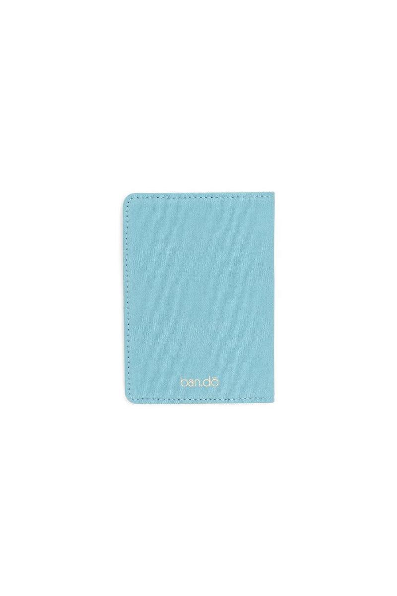 BAN.DO First Class Getaway Passport Holder Accessories   Sky Blue  Ban.do First Class Getaway Passport Holder