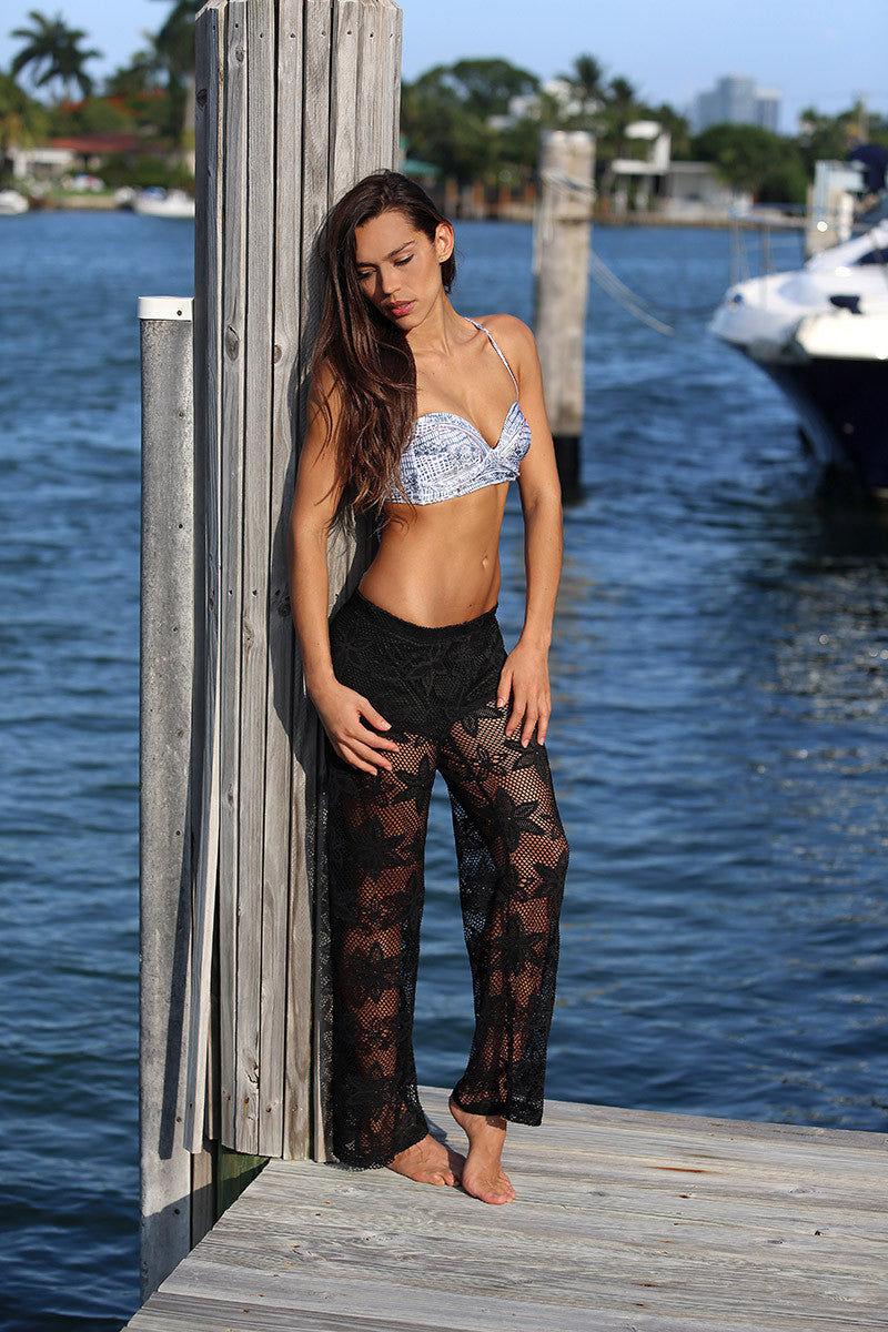 BIKINI.COM Knit Pants - Black Pants   Black Adrianne