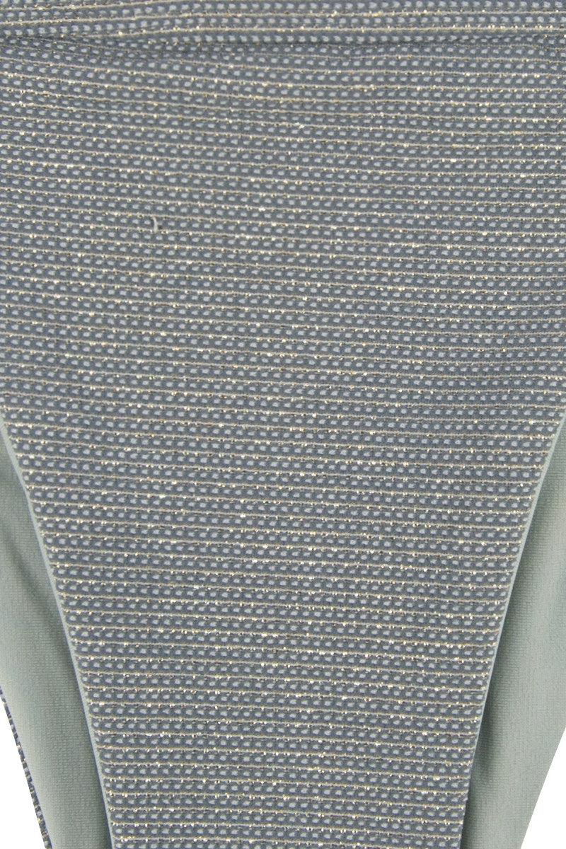 HOUSE OF AU+ORA Fame Thick Waistband Moderate Bikini Bottom - Grey Bikini Bottom | Grey|