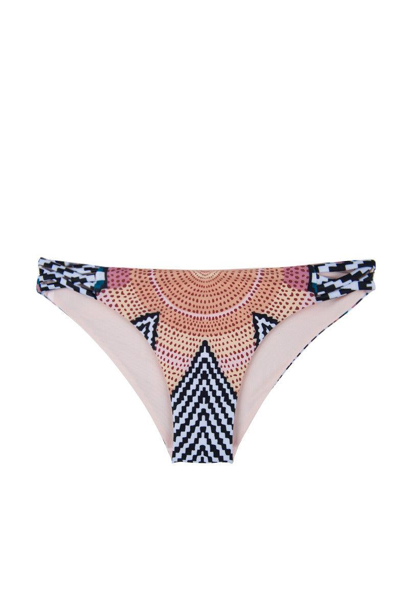 MARA HOFFMAN Classic Reversible Bikini Bottom - Starbasket/White Bikini Bottom   Starbasket White 