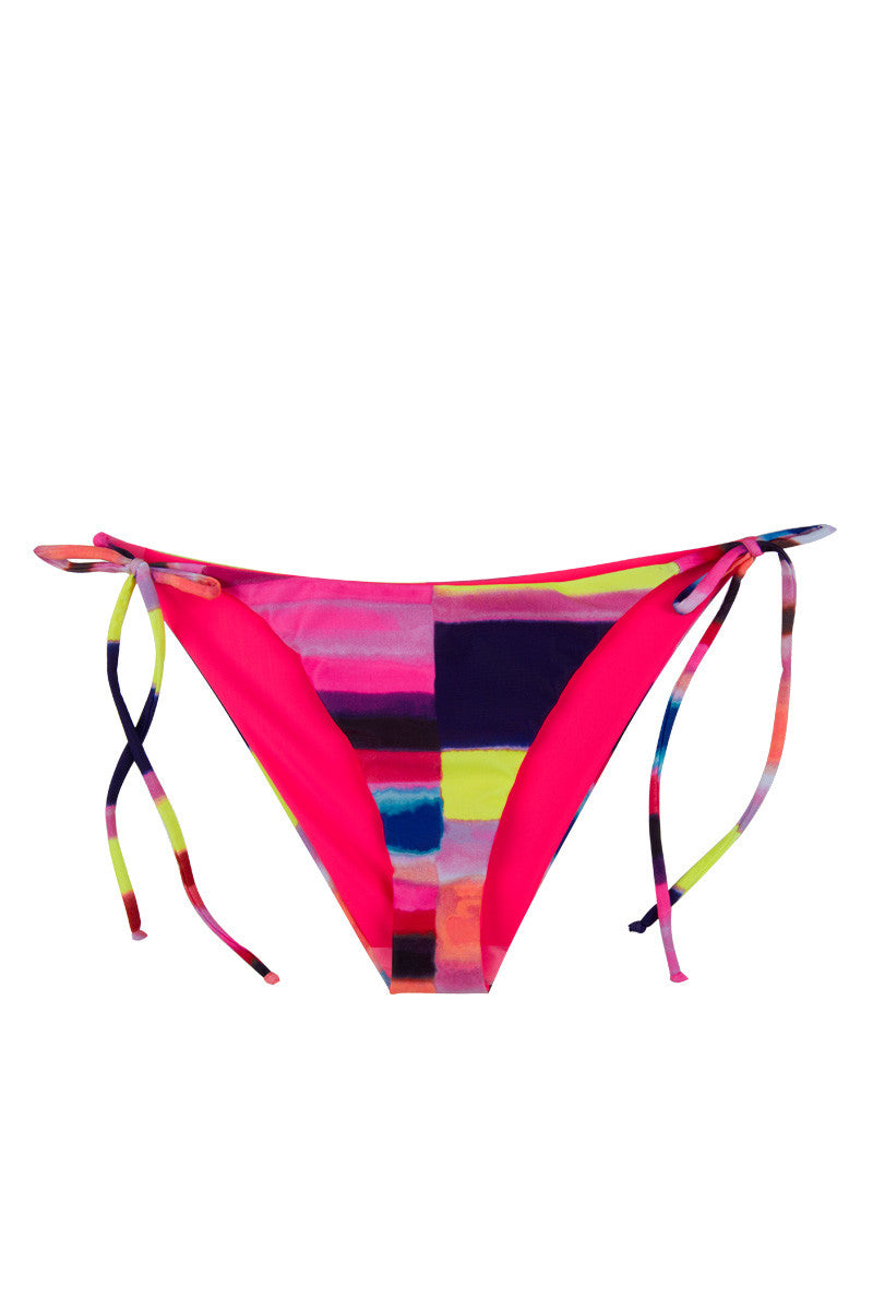 MARA HOFFMAN Tie Side Bikini Bottom - Solstice Bikini Bottom   Solstice 