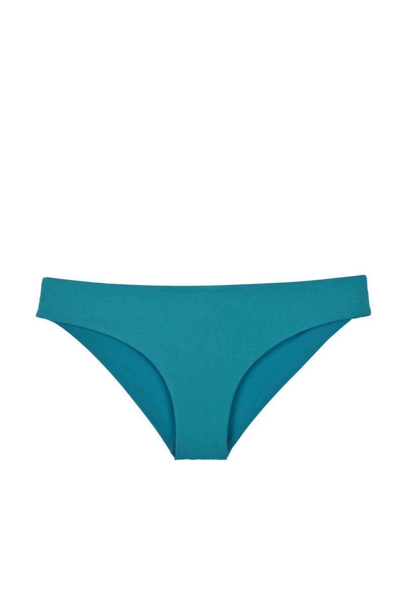 TAVIK Ali Moderate Hipster Bikini Bottom - Harbor Blue Bikini Bottom | Harbor Blue| Tavik Ali Moderate Hipster Bikini Bottom - Harbor Blue Low-rise hipster style cheeky bikini bottom in harbor blue Front View