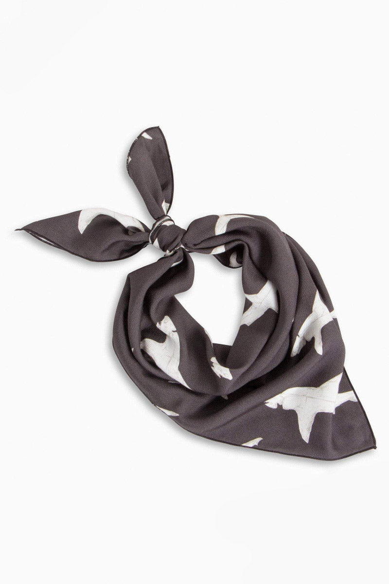 BOYS + ARROWS Bowie Bandana - Hood Fish Hair Accessories | Hood Fish| Boys + Arrows Bowie Bandana - Hood Fish. Features: Use the do-it-all square bandana as a kerchief, head wrap, hankie, lobster bib, fly-away wrangler, and much more. Made of an ultra-soft viscose fabric for long-lasting comfort, style, and breathability. Front View