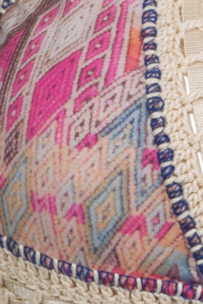 CAPITTANA Kaluha Reversible Bikini Top Bikini Top | Diamond Print| Capittana Kaluha top