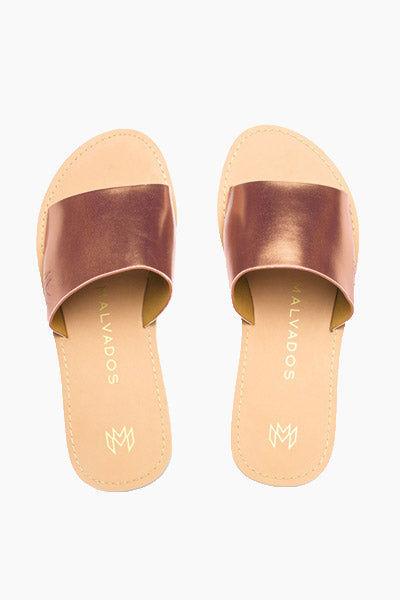 MALVADOS Penny Icon Taylor Sandals - Copper Sandals | Penny Icon Taylor Sandals - Copper
