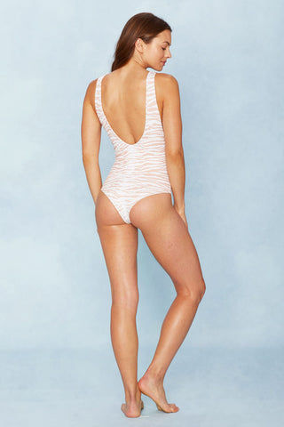INDAH Rainey One Piece - White Tiger One Piece | White Tiger|