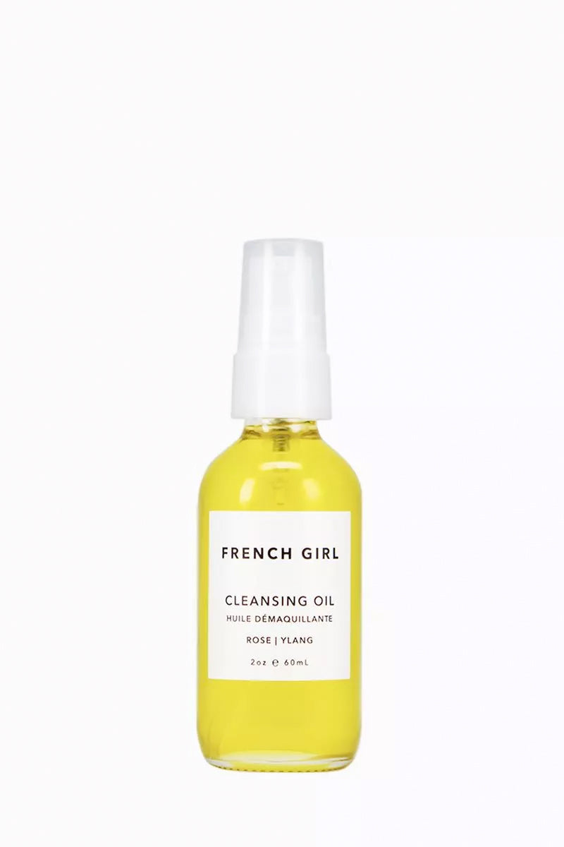 FRENCH GIRL ORGANICS Cleansing Oil - Rose Ylang - 2 oz Beauty | Rose Ylang|French Girl Organics Cleansing Oil - Anti-aging formula rich in antioxidants, Vitamin E, and fatty acids. Gently removes excess oils and debris without over-drying. Jojoba, Argan, and Tamanu Oils - revive dehydrated skin. Rose Geranium Essential Oil - minimizes inflammation and improves circulation.