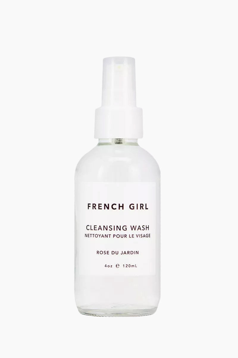 FRENCH GIRL ORGANICS Cleansing Wash - Rose Du Jardin - 4 oz Beauty | Rose Du Jardin|