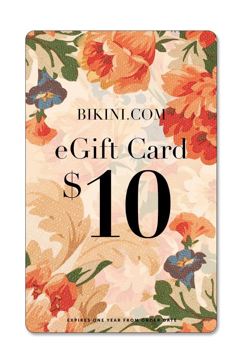 BIKINI.COM $10 eGift Card Gift Card | 10