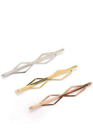 KITSCH Diamond Bobby Hair Accessories | Diamond Bobby