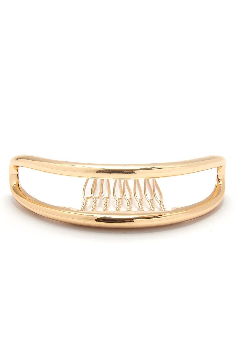 KITSCH Double Bar Bun Pin Hair Accessories | Double Bar Bun Pin