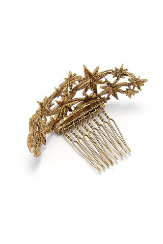KITSCH Star Bun Pin Gold Hair Accessories | Star Bun Pin Gold
