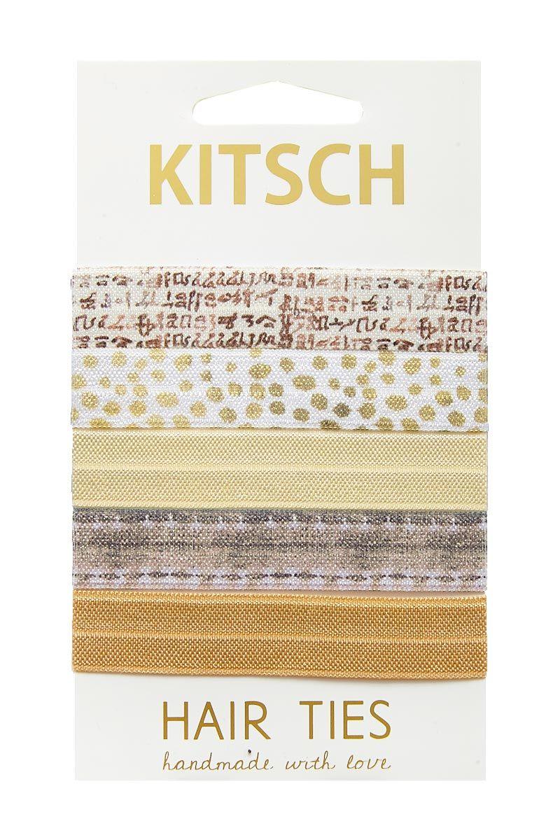 KITSCH Zen Hair Ties Hair Accessories | Zen Hair Ties