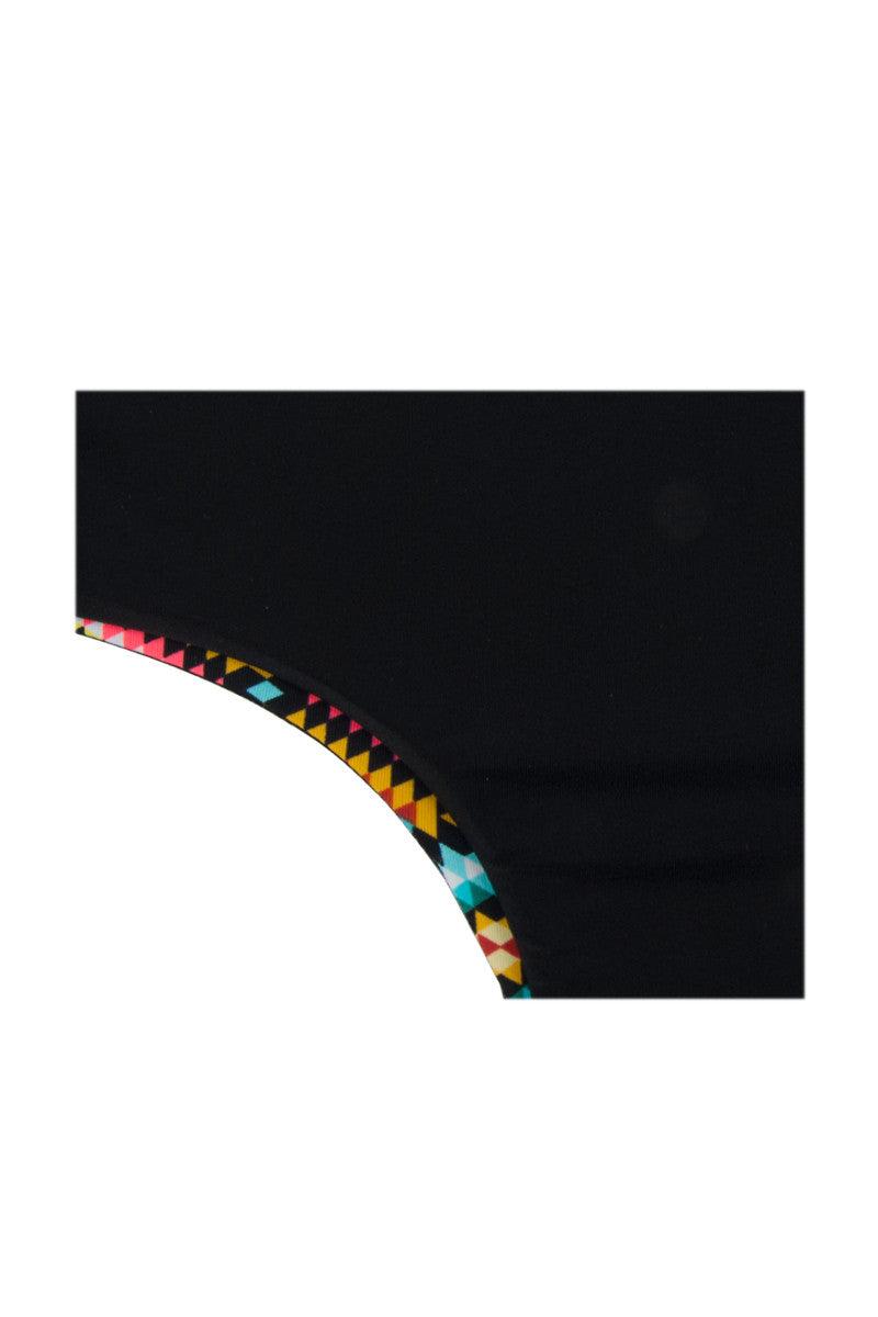 KHONGBOON Kotor Reversible Bottom Bikini Bottom | Multi/Black|