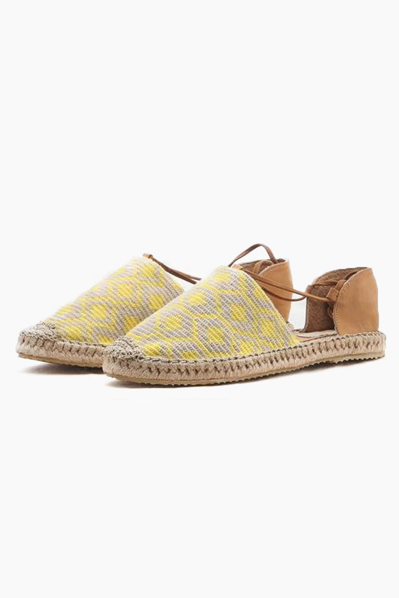 1a80611bcee CHILA BAGS Lebron Lace Up Shoes - Yellow Print