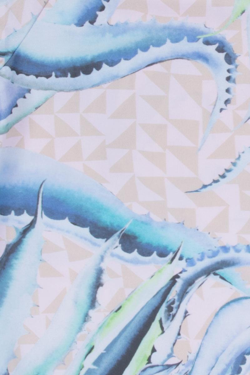 MARA HOFFMAN Classic Bikini Bottom - Aloe Print Bikini Bottom | Aloe Print|Mara Hoffman Classic Bikini Bottom - Aloe Print