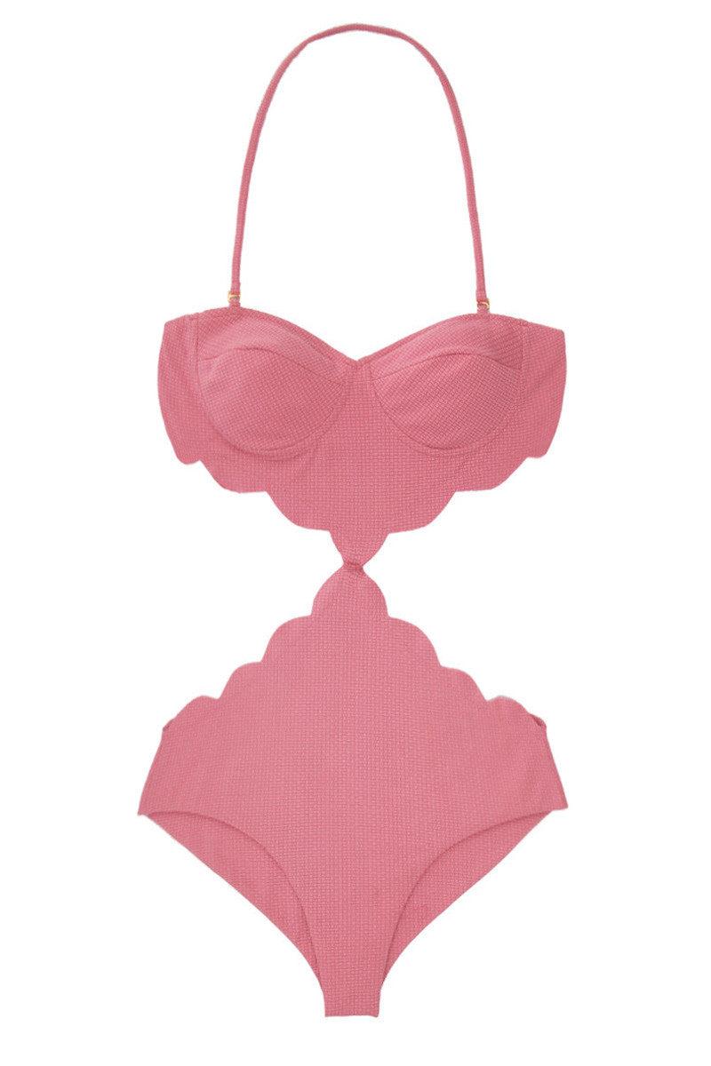 MARYSIA Peony Pink Lafayette One Piece One Piece | Peony Pink|