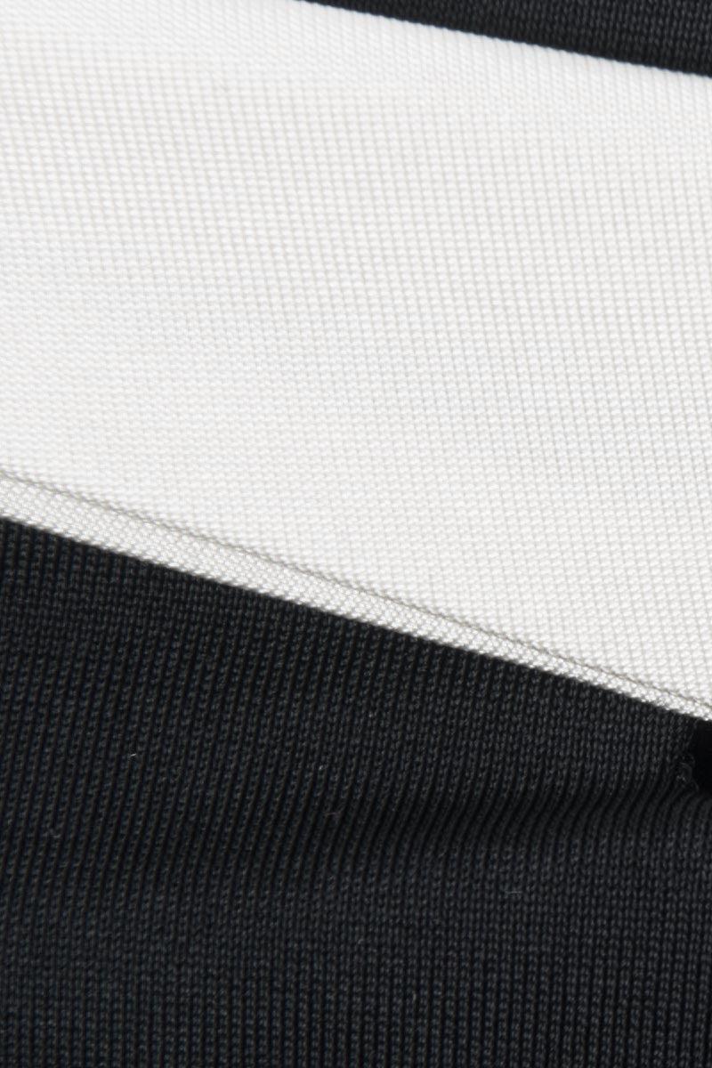 MOEVA Celia Bottom - Black/White Bikini Bottom | Black/White|