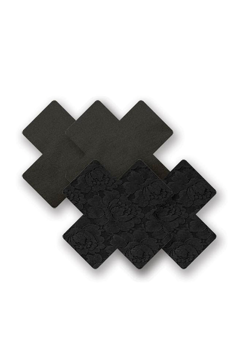 BRISTOLS SIX Basics Black Cross Accessories | Black| Bristols Six Basics Black Cross