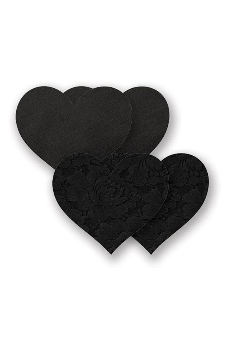 BRISTOLS SIX Basics Black Heart Accessories | Black| Bristols Six Basics Black Heart