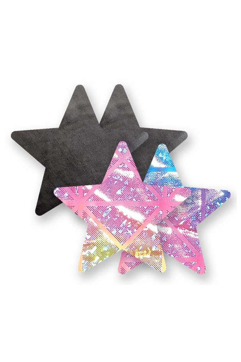 BRISTOLS SIX Electra Star Accessories | Black/Iridescent| Bristols Six Electra Star