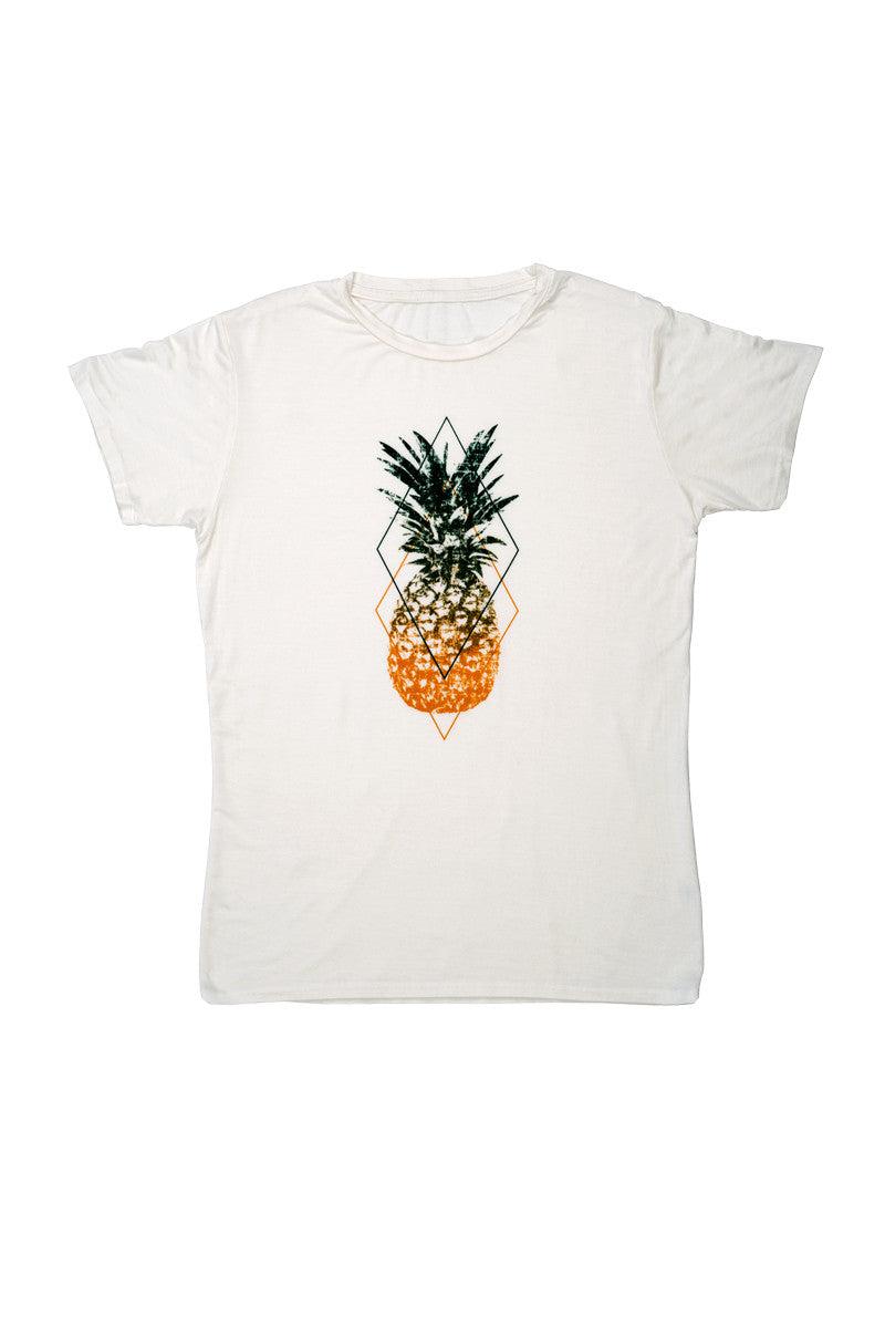 Bikini.com Women's Pineapple T-Shirt Top | Pineapple|