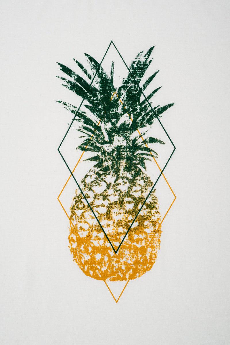 Bikini.com Pineapple T-Shirt (Men's) Mens Top   Pineapple  Bikini.com Pineapple T-Shirt (Men's).  Detailed View. 100% Bamboo. Ultra Soft. Pineapple pop art on center front.