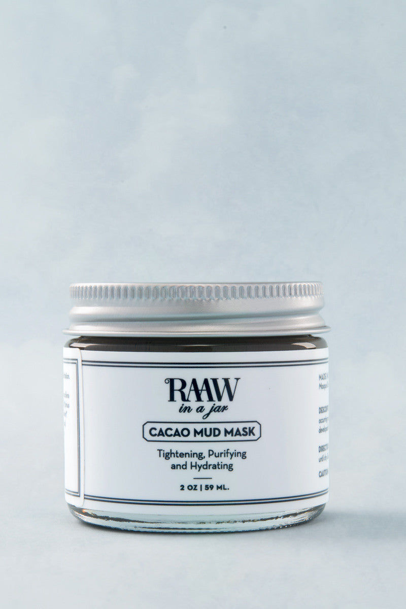 RAAW IN A JAR Mud Mask Beauty | Mud Mask