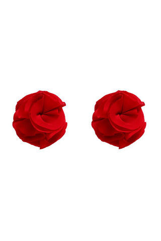 BRISTOLS SIX Gold Couture Rosette Tassels - Scarlet Red Accessories | Scarlett Red| Nippies Gold Couture Rosette Tassels -Scarlet Red  Out of the Box