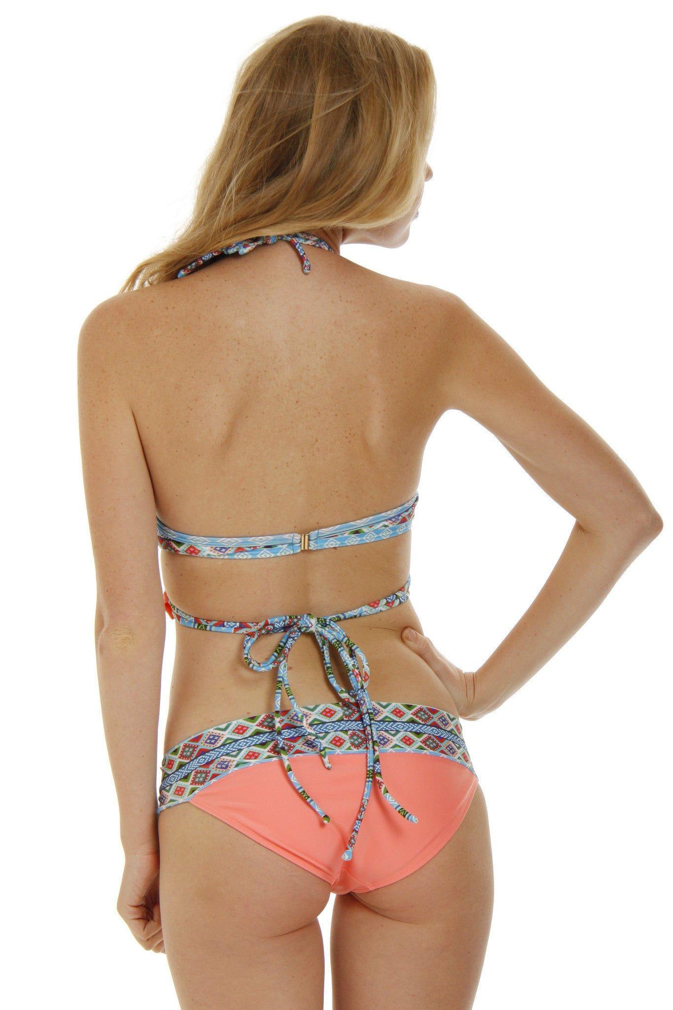 SOLKISSED La Jolla Full Bottom Bikini Bottom | Melon|Kayslee