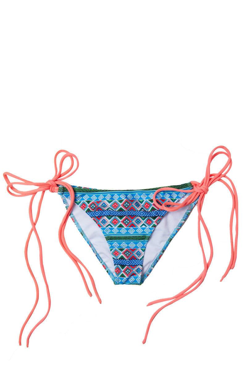 SOLKISSED Mancora Full Bottom Bikini Bottom | Melon|