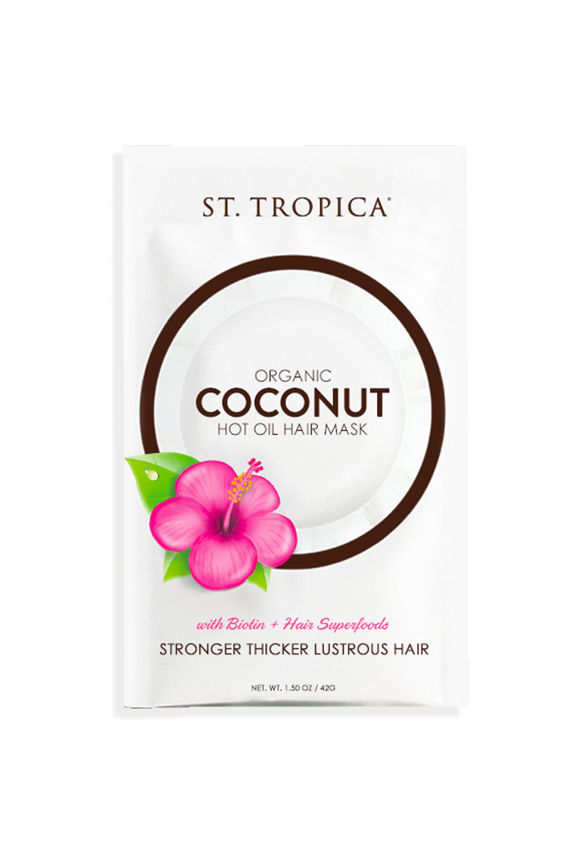 ST. TROPICA Hot Oil Hair Mask Beauty | Hot Oil Hair Mask