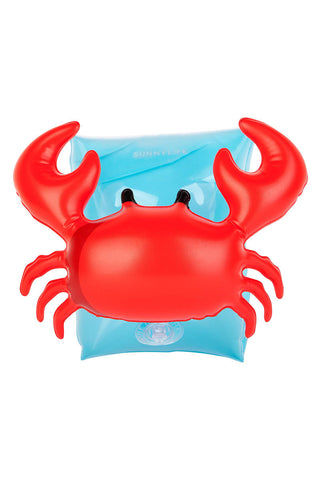 SUNNYLIFE Inflatable Crabby Arm Band Pool Accessories | Crab|Inflatable Crabby Arm Band