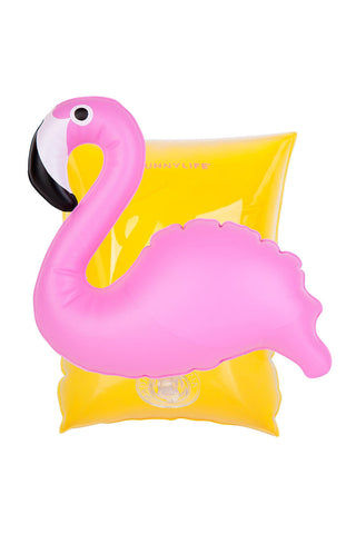 SUNNYLIFE Inflatable Flamingo Arm Band Pool Accessories | Flamingo|Inflatable Flamingo Arm Band