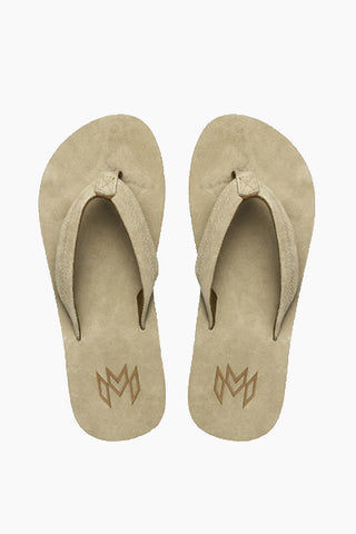 MALVADOS Jack Suede Slides (Men's) - Tan Mens Sandals | Tan|