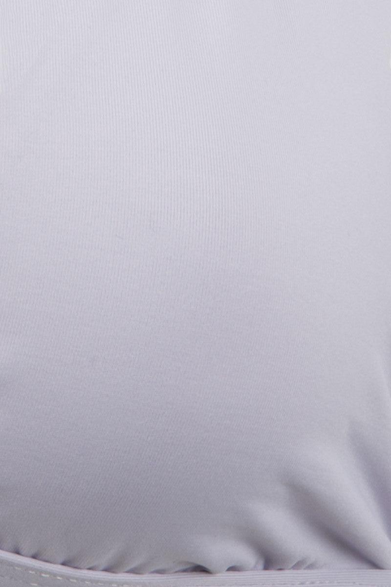 TAVIK Russo Triangle Bikini Top - Lavender Bikini Top | Lavender|