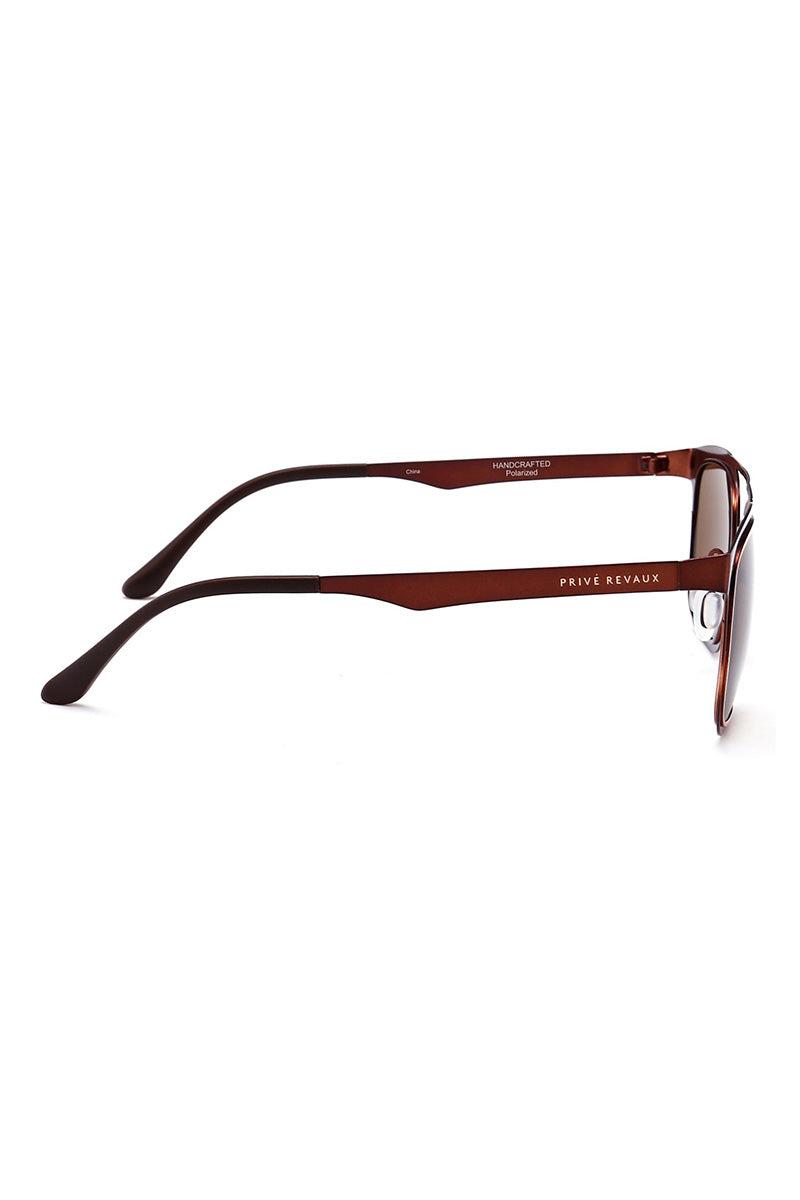 PRIVE REVAUX The Assasin Sunglasses | Brown| Prive Revaux The Assassin