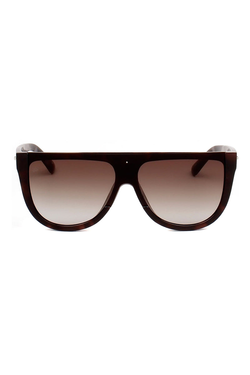 PRIVE REVAUX The Coco Oversized Flat Top Sunglasses - Brown Tortoiseshell Sunglasses | Brown Tortoise| Prive Revaux The Coco