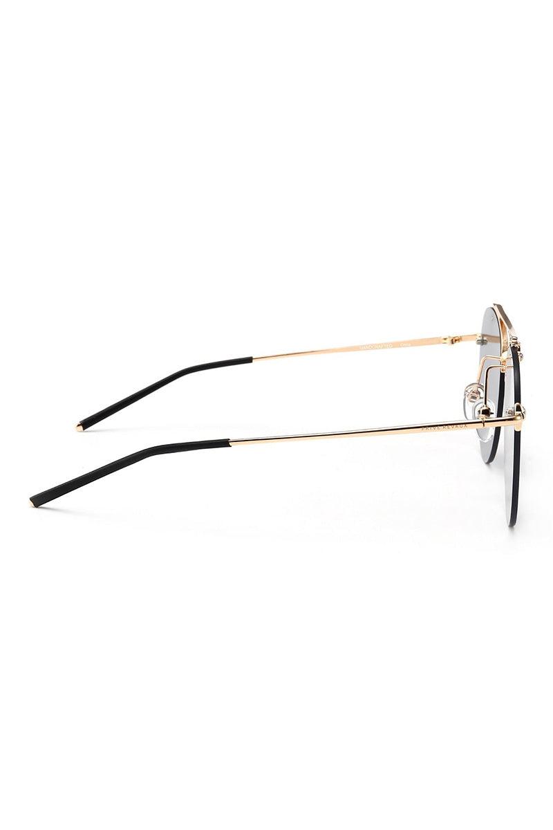 PRIVE REVAUX The Dutchess Sunglasses | Black/ Gold| Prive Revaux The Dutchess