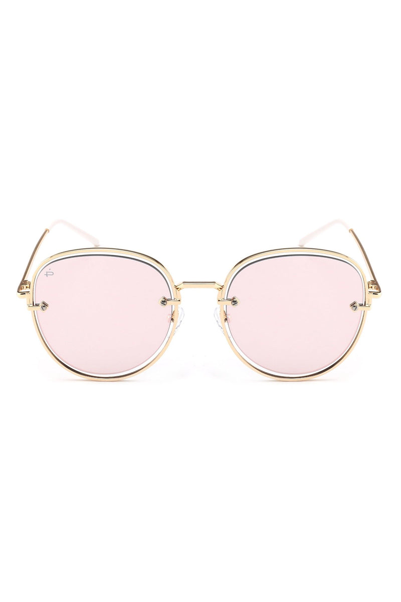 PRIVE REVAUX The Escobar Oval Aviator Sunglasses - Pink Sunglasses | Pink| Prive Revaux The Escobar - Pink