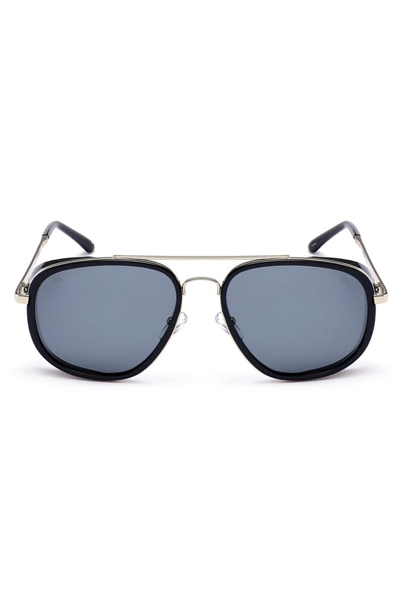 PRIVE REVAUX The Explorer Unisex Square Aviator Sunglasses - Black/Black Sunglasses | Black/Black| Prive Revaux The Explorer