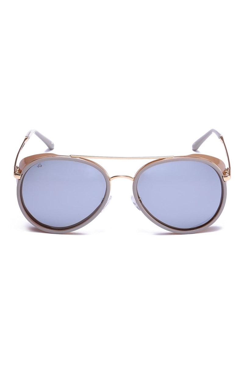 PRIVE REVAUX The Godfather Unisex Aviator Polarized Sunglasses - Nude Sunglasses | Nude| Prive Revaux The Godfather