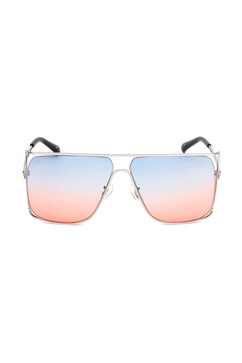 PRIVE REVAUX The Jagger Sunglasses | Silver|The Jagger