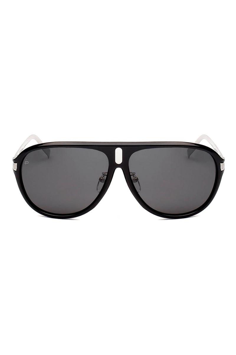 PRIVE REVAUX The McQueen Unisex Flat Top Polarzied Sunglasses - Black Sunglasses | Black| Prive Revaux The McQueen