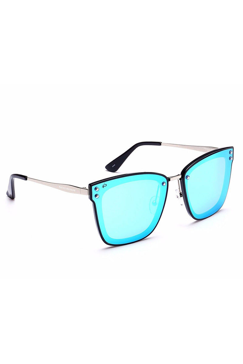 PRIVE REVAUX The Nasty Woman - Blue Sunglasses | Blue| Prive Revaux The Nasty Woman- Blue