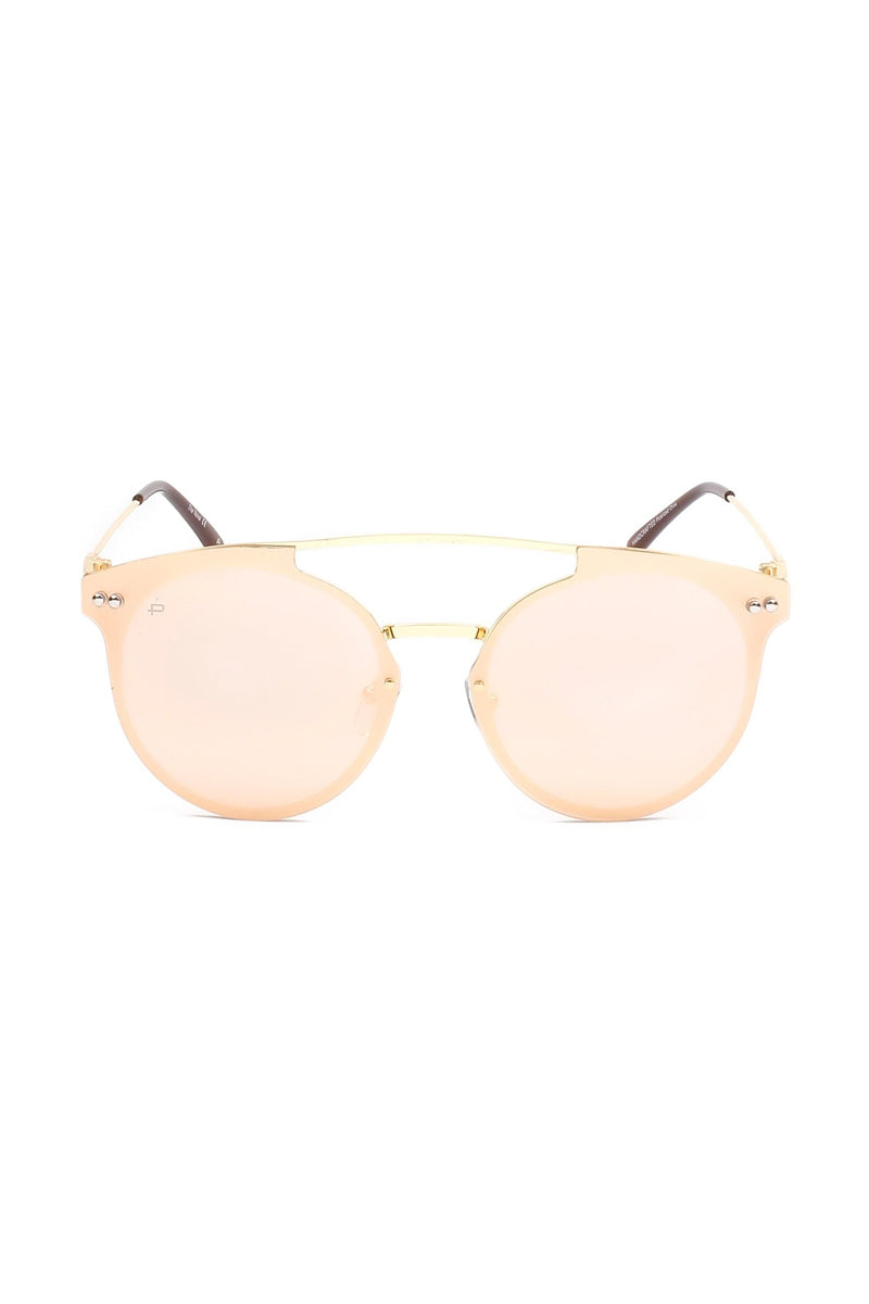 PRIVE REVAUX The Nova Unisex Round Aviator Sunglasses - Gold Sunglasses | Gold| Prive Revaux The Nova- Gold